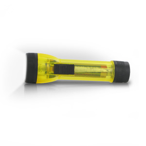 Lumilite Krypton Pocket 1AA Flashlight (Translucent Yellow)