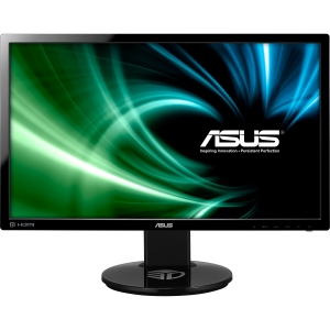 Asus VG248QE 24&quot; LCD Monitor - 1 ms - 1920 x 1080 - Speakers - DVI - HDMI - Black