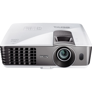 BenQ MW721 3D Ready DLP Projector - 720p - HDTV - 16:10 - F/2.59 - 2.87 - NTSC, PAL, SECAM - 1280 x 800 - WXGA - 13,000:1 - 3500 lm - HDMI - VGA In - Ethernet - 375 W