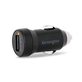 Kensington PowerBolt Auto Adapter - 1 A For iPhone, USB Device
