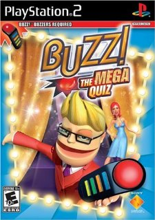 BUZZ: The Mega Quiz (Software Only) (Playstation 2)