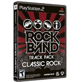 Rock Band Track Pack: Classic Rock (Playstation 2)