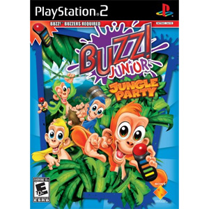 BUZZ Jr.! Jungle Party - Game Only (Playstation 2)
