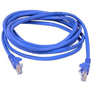 Image of 18FT CAT6 BLUE UTP SNAGLESS A3L980-18-BLU-S