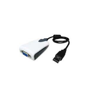 AddOn - Accessories USB to VGA Low Res Multi Monitor Adapter/External Video Card - USB/VGA for Video Device, Monitor - 1 x Type A Male USB - 1 x HD-15 Female VGA