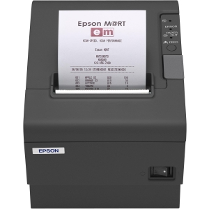 Epson TM-T88IV ReStick Direct Thermal Printer - Monochrome - Desktop - Label Print - 5.91 in/s Mono - 203 x 203 dpi - Wi-Fi