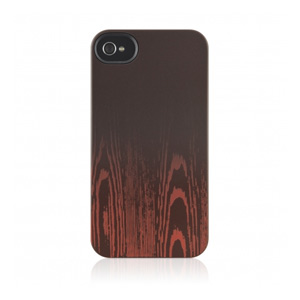 Belkin Emerge 065 iPhone Case - iPhone - Wood Grain, Blacktop - Wood Grain