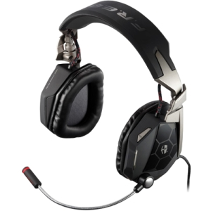 Cyborg F.R.E.Q. 5 Stereo Gaming Headset - Stereo - White - USB - Wired - 20 Hz - 20 kHz - Over-the-head - Binaural - Ear-cup - 6.56 ft Cable - Noise Cancelling Microphone