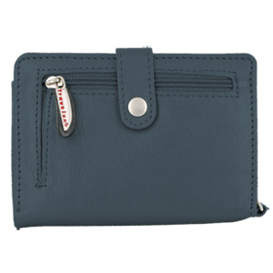 Travelon Product by Travelon Travelon Leather Wallet/Wristlet in One (Navy) at Sears.com