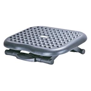 Image of Aidata FR008 Footrest - Adjustable, Non-skid, Comfortable - Black