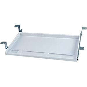 Image of Aidata Standard Keyboard Tray - White