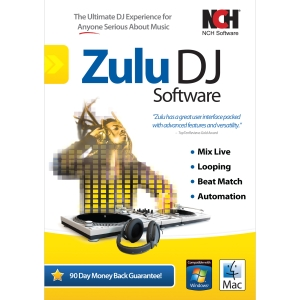 ZULU DJ MIX LOOP BEAT MATCH AUTOMATE SW FOR WINMAC