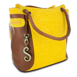 Switch it by Nan Cabana Girl Handbag, Yellow