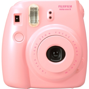 Limited Offer Fujifilm Instax Mini 8 Camera – Pink – Instant Film – Pink Before Special Offer Ends
