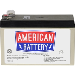 Image of American Battery APC RBC110 Replacement Battery Cartridge #110