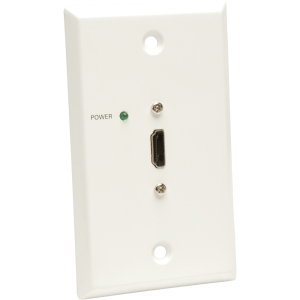 Tripp Lite HDMI over Cat5/Cat6 Passive Video Extender Remote Wallplate TAA GSA - 1 x HDMI Port(s) - 1 x RJ-45 Port(s)