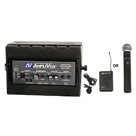 Amplivox SW1230 50 Watt Amplified Speaker with Wireless Mic