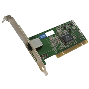 Image of 1 Gigabit Ethernet NIC Card w/1 Port 1Gbase-TX RJ45 PCI 32Bit ADD-PCI-1RJ45