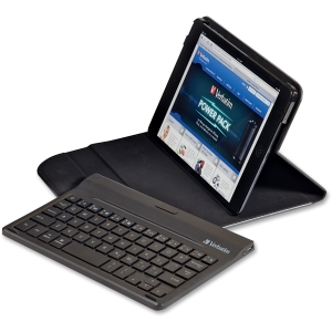Verbatim Keyboard/Cover Case (Folio) for iPad mini