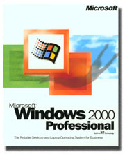 Microsoft Windows 2000 Professional Upgrade Edition