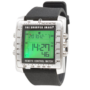 Sharper Image Control Freak Digital Remote Control Watch