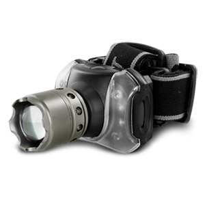 Image of Ultra-Bright CREE 3W Headlamp with Zoom Function