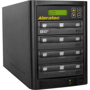 Image of Aleratec 1:3 DVD CD Copy Tower Stand-Alone Duplicator