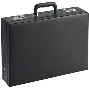 Solo Classic Expandable Attach Briefcase - Black