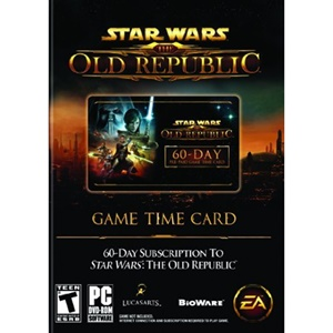 Click here for Star Wars: The Old Republic 60-Day Pre-paid Time C... prices