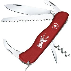 Victorinox Hunter Swiss Army Knife - Red
