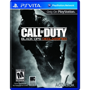 Activision Call of Duty: Black Ops Declassified - First Person Shooter - NVG Card - PS Vita
