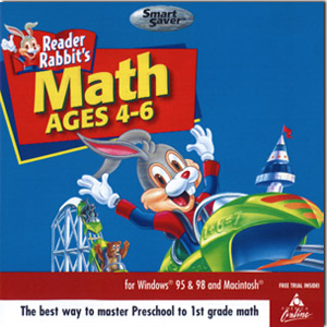 Reader Rabbit's Math Ages 4 - 6
