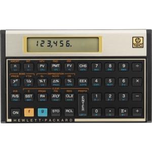 HP 12C Financial Programmable Calculator (12C#ABA)