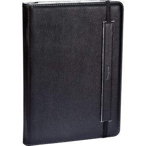 Targus Truss THZ09802US Carrying Case (Book Fold) for 10.1 Tablet PC - Gray, Black - Leather