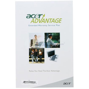 Image of ACER 2-year upgrade extenstion of limited warranty plus 3-year total protection Service Agreement