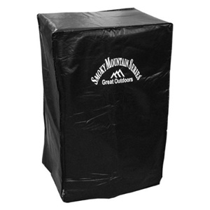 Landmann 32-Inch PVC Electric Smoker Cover - Black