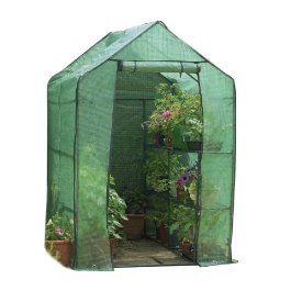 Gardman Walk-In Greenhouse with Shelving 6'3