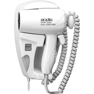 Image of Andis 1600W Quiet Hangup Hair Dryer with Night Light