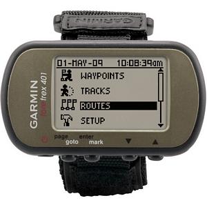 Garmin Foretrex 401 Portable Navigator - Monochrome LCD - USB