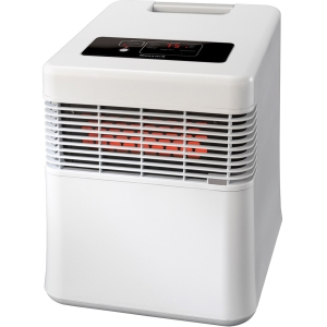 HW Dig. Infrared Heater Wht