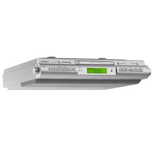 Sony ICF-CDK50 Under Cabinet Clock Radio - FM, AM