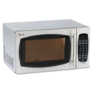 Image of Avanti 0.9 cu. ft. 900-Watt Countertop Microwave - Stainless Steel