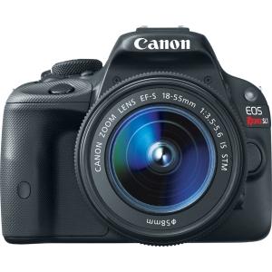 Canon EOS Rebel SL1 18 MP Digital SLR Camera w/ 18-55mm IS STM Lens