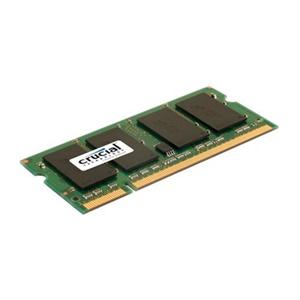 Crucial 4GB DDR2 SDRAM Memory Module - 4GB - 800MHz DDR2-800/PC2-6400 - Non-ECC - DDR2 SDRAM - 200-pin SoDIMM