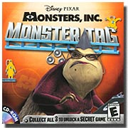 Monsters, Inc. Monster Tag