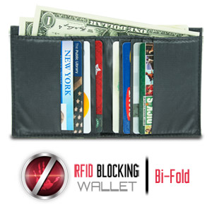 Safe ID Ripstop Billfold Wallet with RFID Blocking