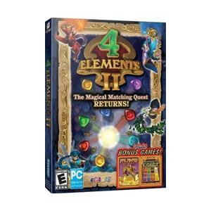 4 Elements II with Bonus Atlantis Quest & Brickshooter Egypt