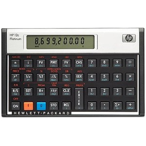 HP 12C Platinum Financial Calculator (F2231AA#ABA)