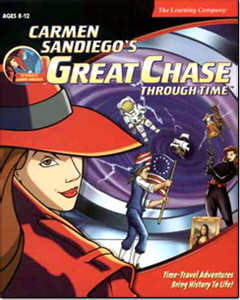 Carmen Sandiego Great Chase Through Time