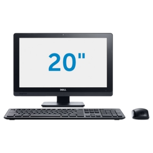 Dell Inspiron One 2020 All-in-One Computer - Intel Pentium G2030T 2.60 GHz - Desktop - Black - 4 GB RAM - 1 TB HDD - DVD-Writer - Intel HD Graphics - Windows 8English) - 20 Display - Wireless LAN - Bluetooth